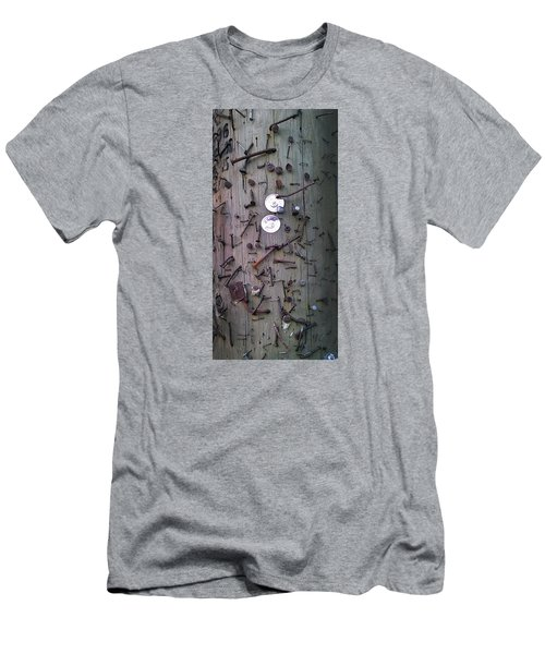 Men's T-Shirt (Slim Fit) featuring the photograph Nailed It by Steve Sperry