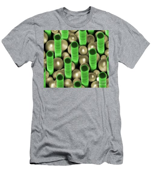 Nanoparticle Trapping, Nanotechnology Men's T-Shirt (Athletic Fit)