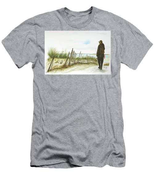 Napatree Point Watch Hill, Ri Men's T-Shirt (Athletic Fit)