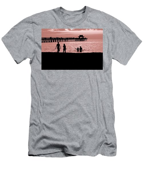 Naples Florida Sunset Men's T-Shirt (Athletic Fit)