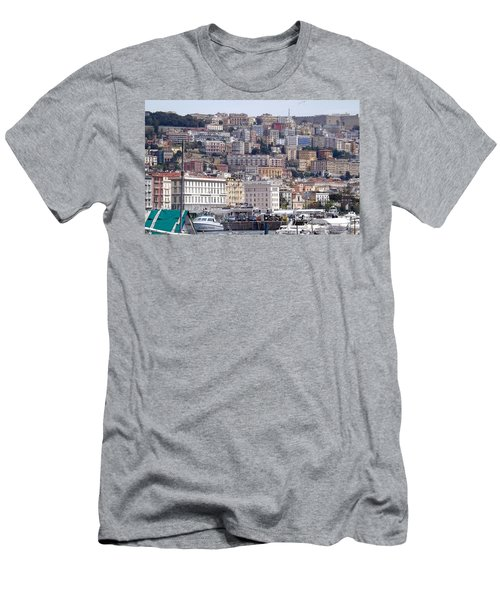 Naples In The Spring Men's T-Shirt (Athletic Fit)
