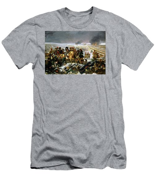 Men's T-Shirt (Slim Fit) featuring the painting Napoleon At Eylau  by Antoine Jean Gros