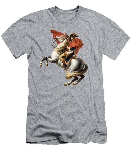 Napoleon Bonaparte On Horseback Men's T-Shirt (Athletic Fit)