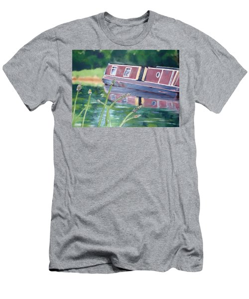 Narrowboat Men's T-Shirt (Athletic Fit)
