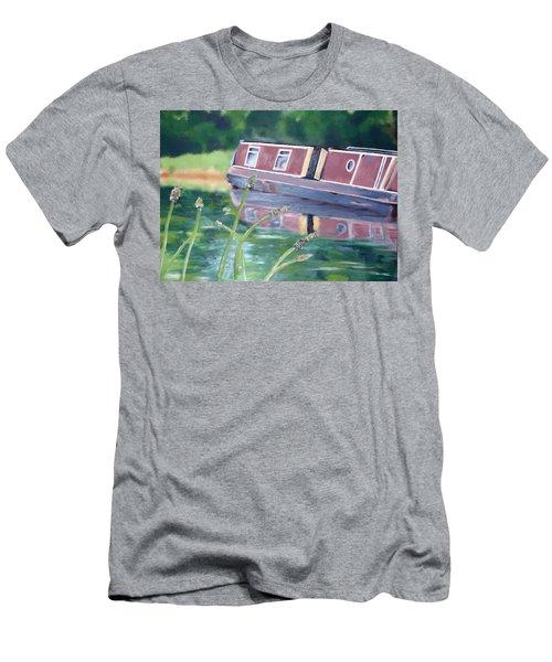 Narrowboat Men's T-Shirt (Athletic Fit)