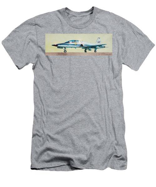 Nasa T-38 Talon Men's T-Shirt (Athletic Fit)