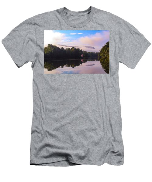 Nashawannuck Pond, Easthampton, Ma Men's T-Shirt (Athletic Fit)