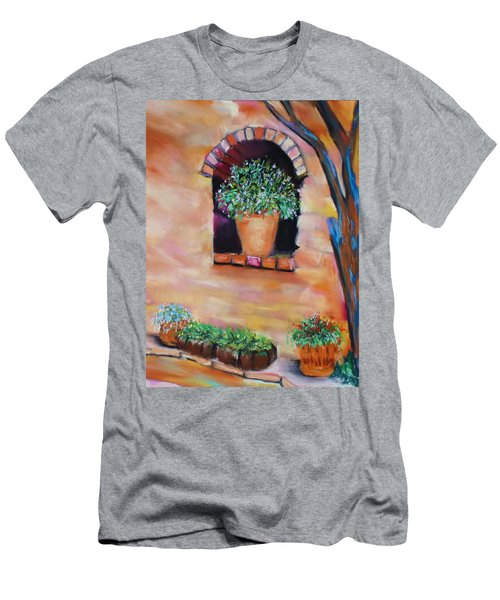 Nash's Courtyard Men's T-Shirt (Athletic Fit)