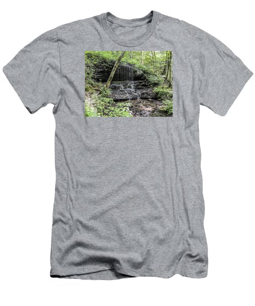 Natchez Trace Waterfall Men's T-Shirt (Athletic Fit)