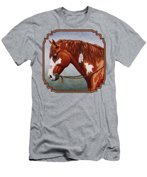 Native American War Horse Phone Case Men's T-Shirt (Athletic Fit)
