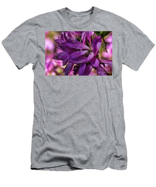 Native Long Petals Men's T-Shirt (Athletic Fit)