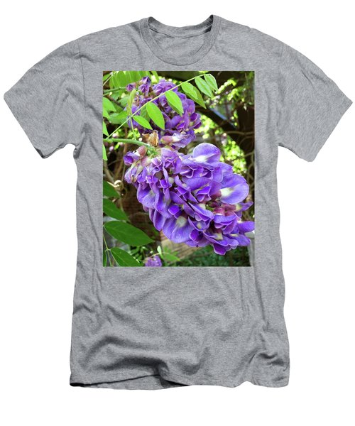 Native Wisteria Vine II Men's T-Shirt (Slim Fit)