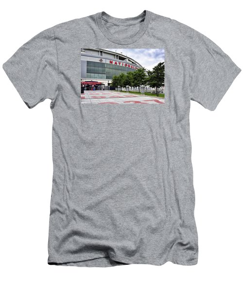 Nats Park - Front Entrance  Men's T-Shirt (Slim Fit) by Brendan Reals