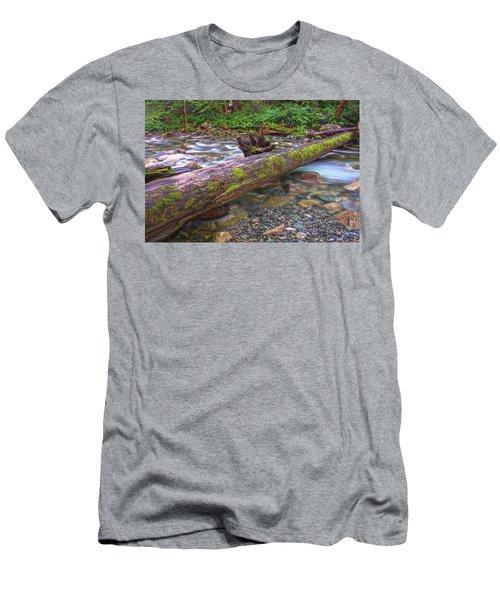 Natural Bridge Men's T-Shirt (Athletic Fit)