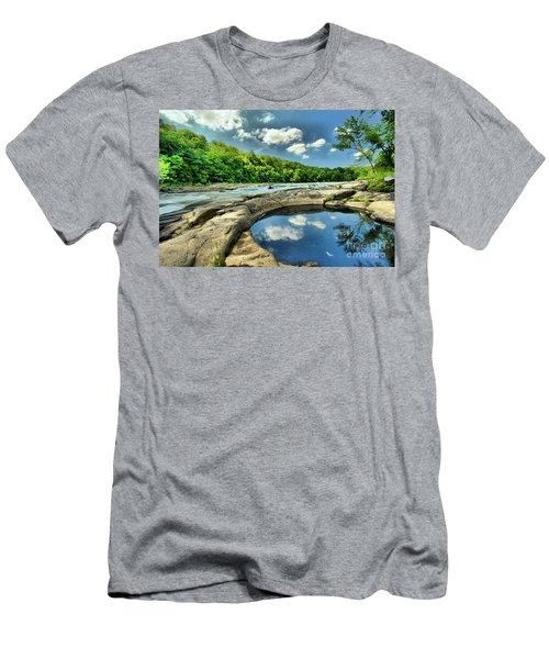 Natural Swimming Pool Men's T-Shirt (Athletic Fit)