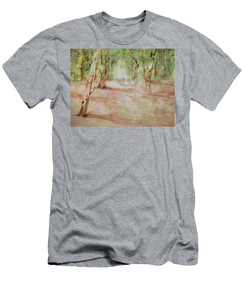 Nature At The Nature Center Men's T-Shirt (Athletic Fit)