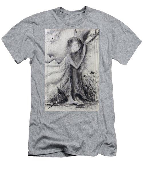 Nature Love  Men's T-Shirt (Athletic Fit)