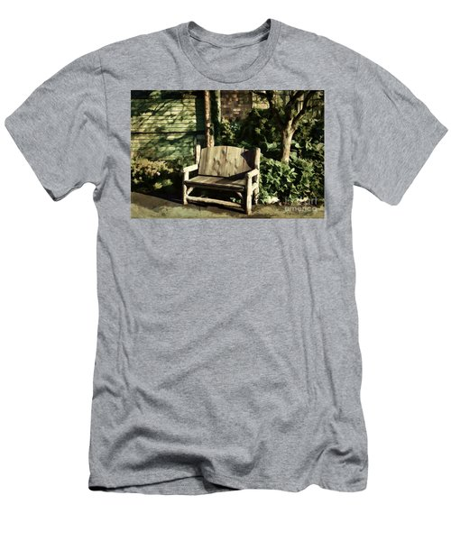 Nature - Peacefulness  Men's T-Shirt (Athletic Fit)