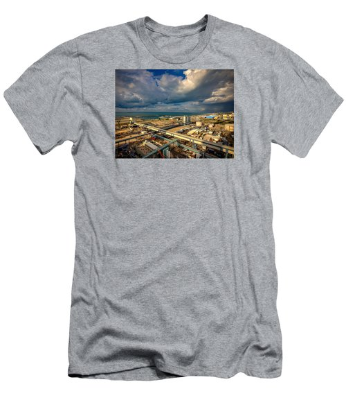Nature Vs Technology Men's T-Shirt (Athletic Fit)