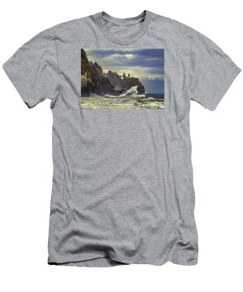 Natures Beauty Unleashed Men's T-Shirt (Slim Fit)
