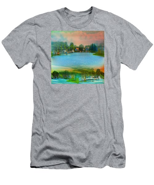 Nature's Magical Sunsets Men's T-Shirt (Slim Fit) by Judy Palkimas