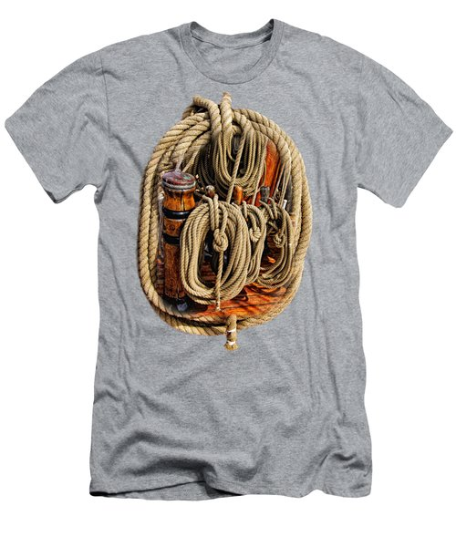 Nautical Knots 16 Men's T-Shirt (Athletic Fit)