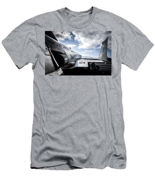 Navy 104 Men's T-Shirt (Athletic Fit)