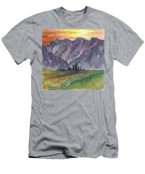 Near Canyon Entrance Men's T-Shirt (Slim Fit) by R Kyllo
