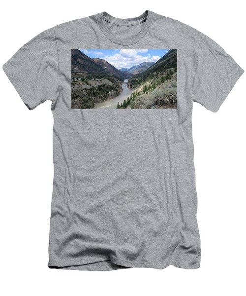 Near Lillooet Bc Men's T-Shirt (Athletic Fit)