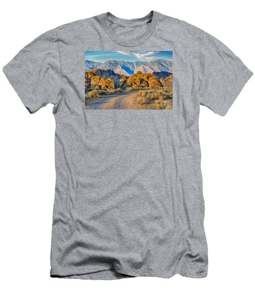 Near Sunset In The Alabama Hills Men's T-Shirt (Athletic Fit)
