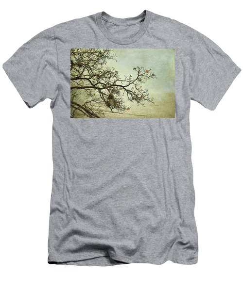 Nearly Bare Branches Men's T-Shirt (Athletic Fit)