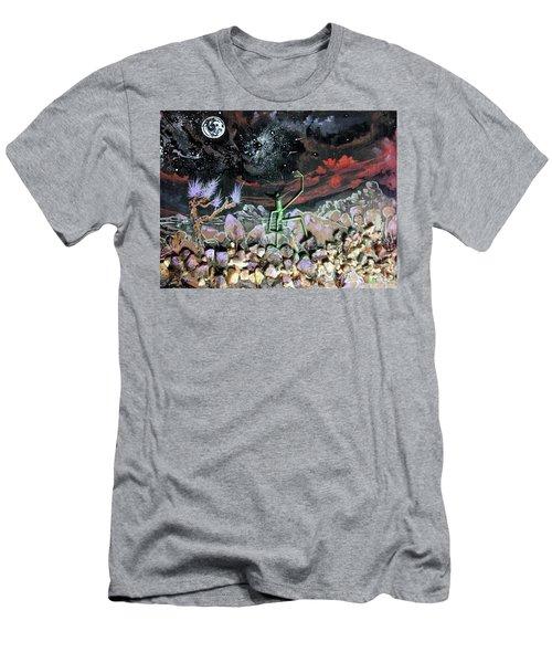 Haystack Needle Men's T-Shirt (Athletic Fit)