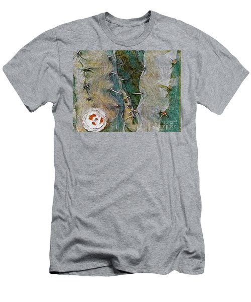 Needles In The Desert Men's T-Shirt (Slim Fit) by Kathie Chicoine