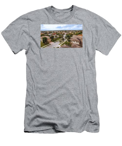 Neighborhood Aerial Men's T-Shirt (Athletic Fit)