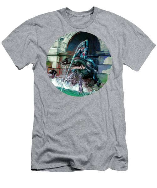 Men's T-Shirt (Slim Fit) featuring the photograph Neptune Nymph 2 by Robert G Kernodle