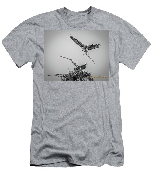 Nest Building 2m Men's T-Shirt (Athletic Fit)