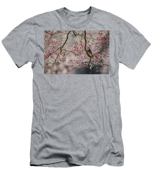 Nest Scouting Men's T-Shirt (Slim Fit) by Judy Wolinsky