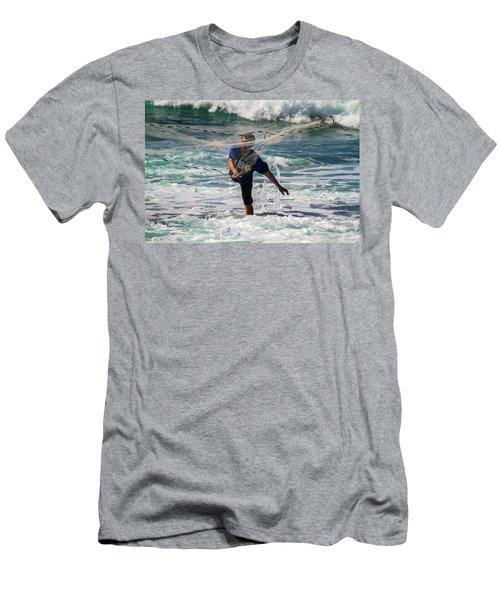 Net Fishing Men's T-Shirt (Athletic Fit)