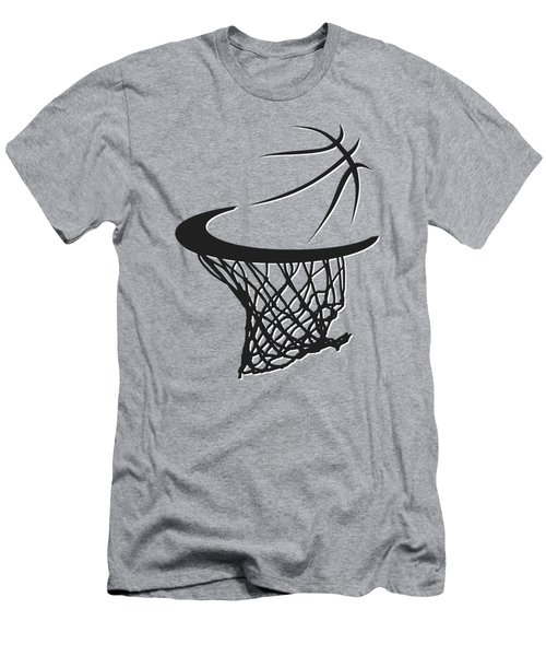 Nets Basketball Hoop Men's T-Shirt (Athletic Fit)