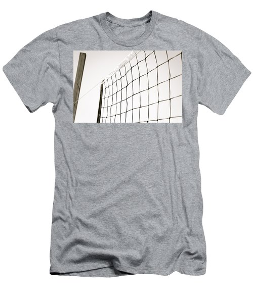 Men's T-Shirt (Slim Fit) featuring the photograph Netted by Wade Brooks