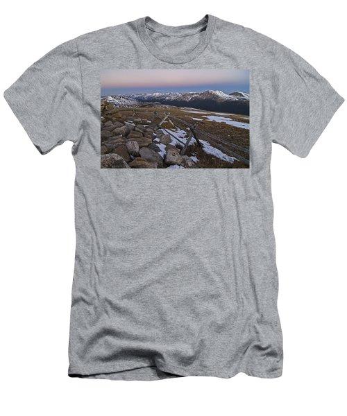 Never Summer Range Men's T-Shirt (Athletic Fit)