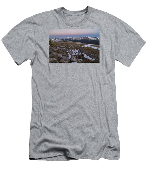 Never Summer Range Men's T-Shirt (Athletic Fit)