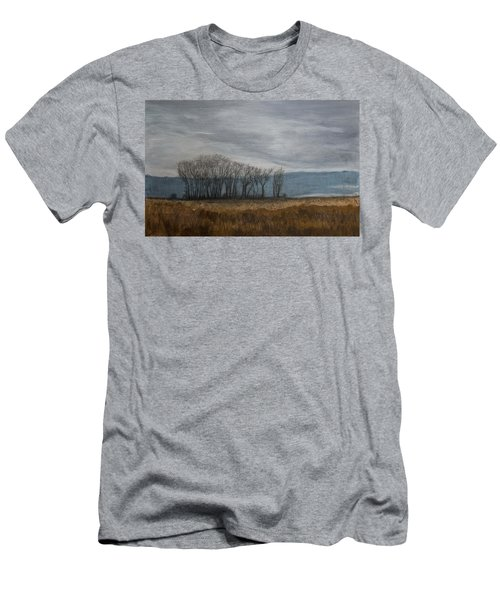 New Buffalo Marsh Men's T-Shirt (Athletic Fit)
