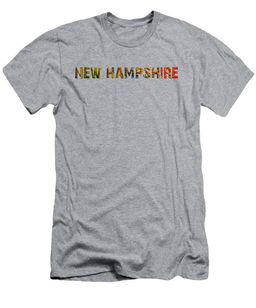 New Hampshire Is The Name Men's T-Shirt (Slim Fit) by Mim White