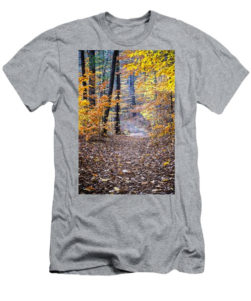 New Hampshire Woods Men's T-Shirt (Athletic Fit)