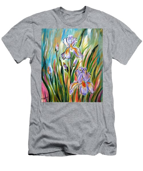 New Irises Men's T-Shirt (Athletic Fit)