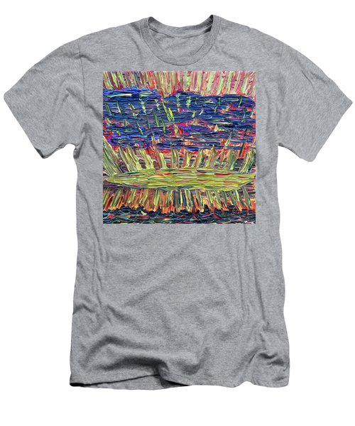 New Jersey Sunset Men's T-Shirt (Athletic Fit)