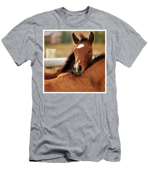 Men's T-Shirt (Slim Fit) featuring the photograph New Life by Sharon Jones