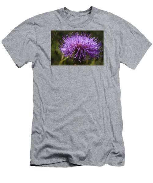 New Mexican Thistle Men's T-Shirt (Athletic Fit)