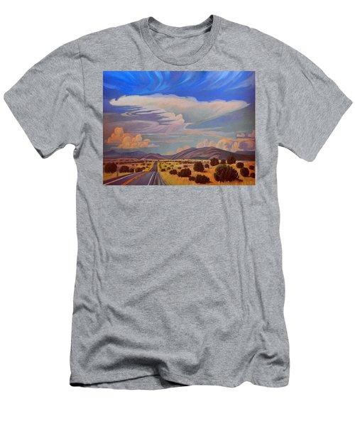 New Mexico Cloud Patterns Men's T-Shirt (Slim Fit)